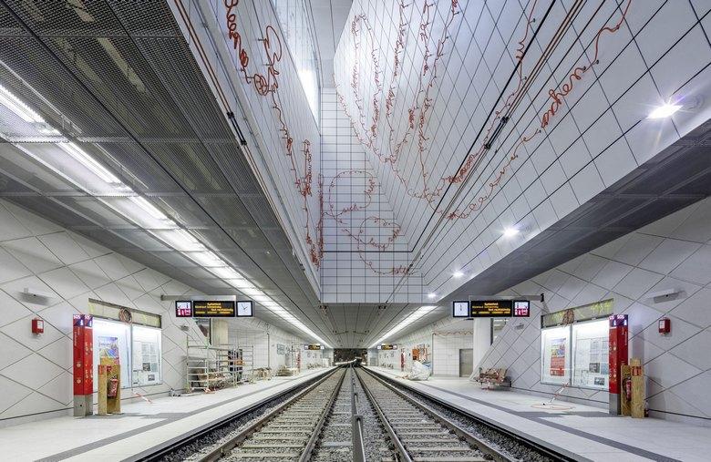 Dusseldorf Subway Map Kirchplatz.Underground Line Wehrhahn Open Zpp Ingenieure